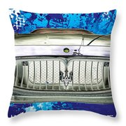 Maserati Granturismo I I I Throw Pillow