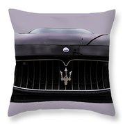 Maserati Granturismo I Throw Pillow