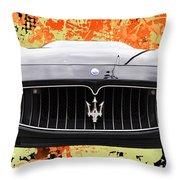 Maserati Granturismo I V Throw Pillow