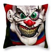 Masks Fright Night 1 Throw Pillow