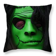 Masks Fright Night 4 Throw Pillow