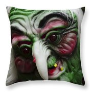 Masks Fright Night 5 Throw Pillow
