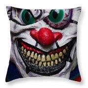 Masks Fright Night 6 Throw Pillow