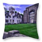 Masonic Lodge Throw Pillow
