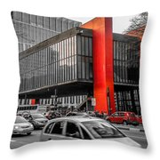 Masp Throw Pillow