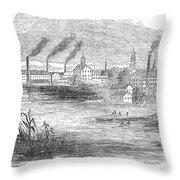 Massachusetts Lawrence Throw Pillow