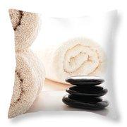 Massage Ready Throw Pillow
