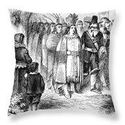 Massasoit (c1581-1661) Throw Pillow