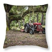 Massey Ferguson - Live Oak Throw Pillow