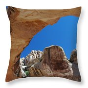 Massive Arch 1 Throw Pillow