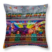 Master Blaster All The Fun Of The Fair Throw Pillow