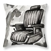 Master Chair Throw Pillow by Shop Aethetiks