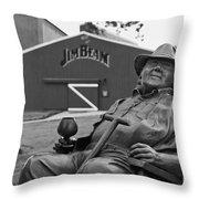 Master Distiller - D008301-bw Throw Pillow