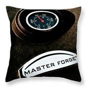 Master Forge Throw Pillow