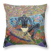 Master Of Creative Forces Throw Pillow
