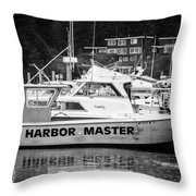 Master Of The Harbor Throw Pillow by Melinda Ledsome