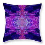 Mastering Universal Ideals Abstract Healing Artwork By Omaste Witkowski Throw Pillow