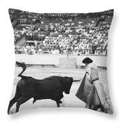 Matador Silverio Perez Throw Pillow