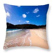 Matapouri Bay Throw Pillow