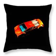 Match Box Car Throw Pillow