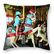 Matching Outfits Throw Pillow