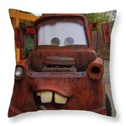 Mater Throw Pillow
