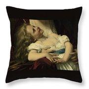 Maternal Affection Detail Throw Pillow