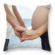 Maternity Love Throw Pillow