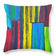Mathematical Fractions Throw Pillow