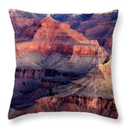 Mather Point Twilight Throw Pillow