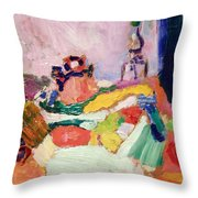 Matisse's Still Life Throw Pillow