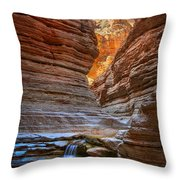 Matkatamiba Cascade Throw Pillow