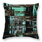 Matrix 1 Throw Pillow