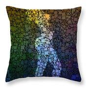 Matrix Girl Throw Pillow