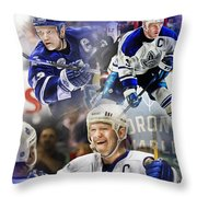 Mats Sundin Throw Pillow