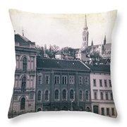 Matthias Church And Vizivaros Throw Pillow
