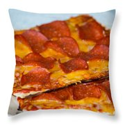 Matza Pizza Throw Pillow