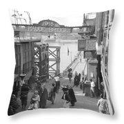 Maude Bridge In Baghdad Throw Pillow