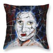 Maude - Detail No. 1 Throw Pillow