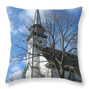 Mauricetown Church  Throw Pillow
