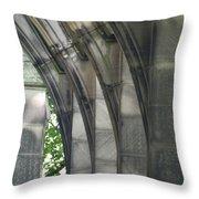 Mausoleum Arches Throw Pillow