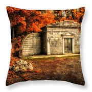 Mausoleum Throw Pillow by Bob Orsillo