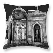 Mausoleums 2 Throw Pillow