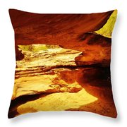 Maverick Natural Bridge Throw Pillow