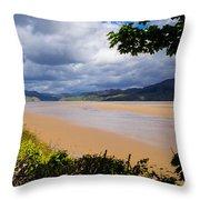 Mawddach Estuary Throw Pillow