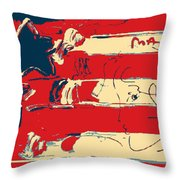 Max Americana In Hope Throw Pillow