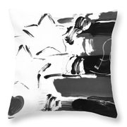 Max Americana In Negative Throw Pillow