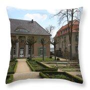 Max Liebermann House Wannsee Throw Pillow