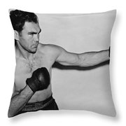 Max Schmeling 1938 Throw Pillow by Mountain Dreams