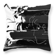 Max Stars And Stripes In Negative Throw Pillow